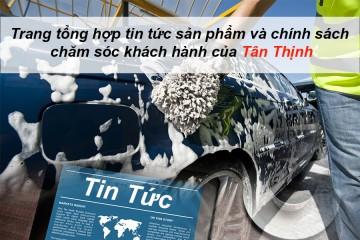 Vì sao nên lựa chọn máy rửa xe bọt tuyết Việt Nam