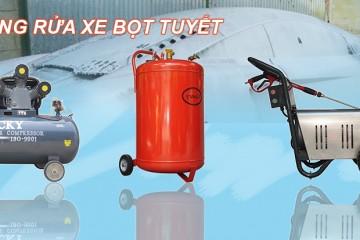 Các thiết bị cần thiết cho tiệm rửa xe bọt tuyết