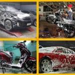 Mách mẹo cách rửa xe máy nhanh nhất, sạch nhất và chuyên nghiệp nhất