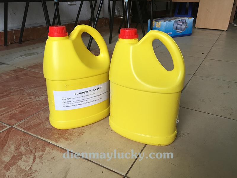 Dung dịch tẩy ố lazang HT - 3M đơn giản - an toàn khi sử dụng