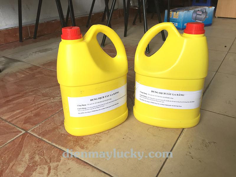 Dung dịch tẩy ố lazang HT - 3M làm sạch các vết ố bẩn, sỉn màu, ẩm mốc