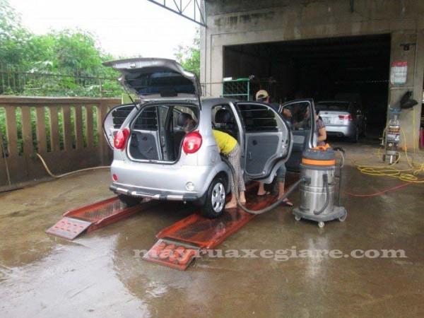 rủi ro khi kinh doanh rửa xe