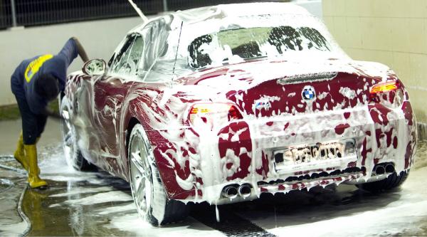mặt bằng rửa xe ô tô