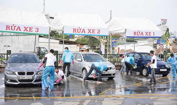 thuê mẳt bằng rửa xe tại Hà Nội