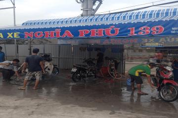Biến ý tưởng kinh doanh rửa xe máy thành hiện thực dễ dàng