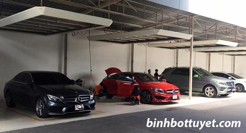 mở tiệm rửa xe ô tô