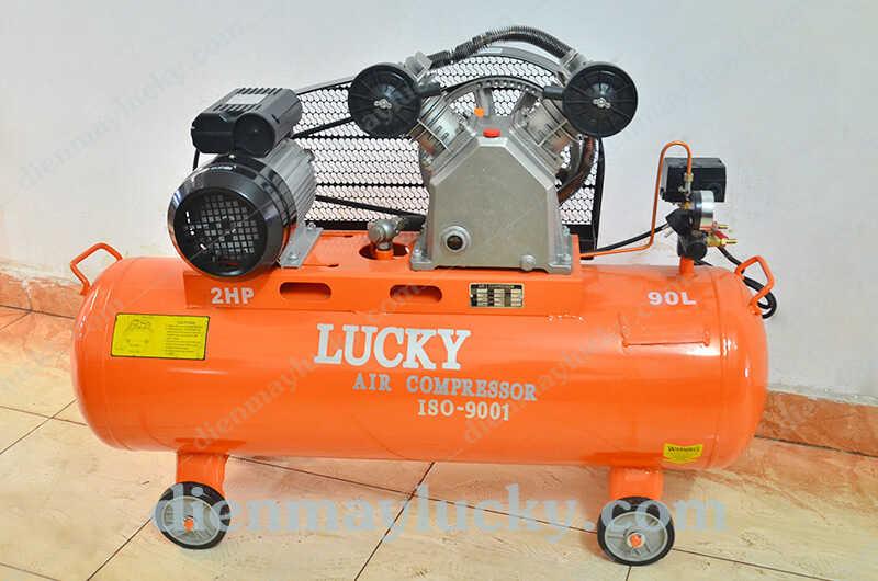 Máy nén khí piston Lucky 90 lít