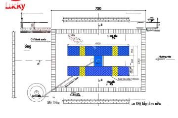 Kích thước cầu nâng 1 trụ – Cấu tạo cầu nâng 1 trụ rửa xe ô tô