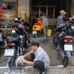 Mở quán rửa xe máy – Thiết bị rửa xe máy cho các mô hình kinh doanh